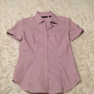 Short sleeve NY&C non iron button down